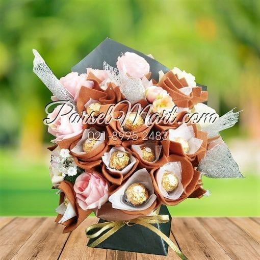 buket-coklat-fererro-rocher