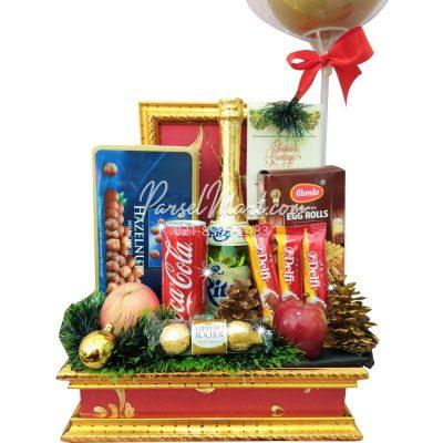 parcel-natal-coklat